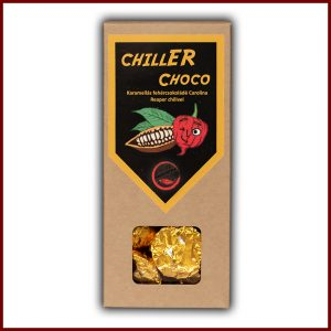 CHILLER CHOCO 120g Chilis-karamellás fehércsokoládé