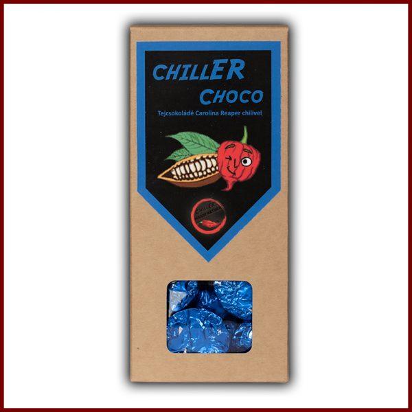 CHILLER CHOCO 120g Chilis-tejcsokoládé