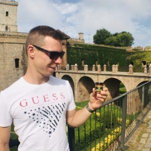 Montjuic Castle-Spanyolország